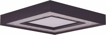 Maxim 35043CRYBZ Splendor Bronze LED 15.5  Flush Mount Lighting