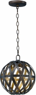 Maxim 35053BZGTGLD Weave Contemporary Bronze Gilt and Gold 12  Lighting Pendant