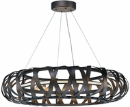 Maxim 35055BZGTGLD Weave Modern Bronze Gilt and Gold LED Ceiling Pendant Light