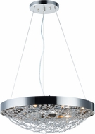 Maxim 35085BCPN Lace Polished Nickel Xenon Pendant Light Fixture
