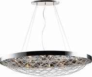 Maxim 35087BCPN Lace Polished Nickel Xenon Island Light Fixture