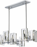 Maxim 38015BCPN Suave Polished Nickel Island Light Fixture