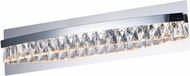 Maxim 38367BCPC Icycle Polished Chrome LED 24  Bathroom Sconce Lighting
