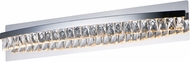 Maxim 38368BCPC Icycle Polished Chrome LED 30  Bath Lighting Sconce