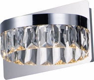 Maxim 38371BCPC Icycle Polished Chrome Wall Sconce Light