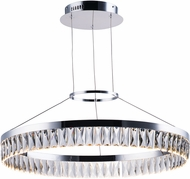 Maxim 38375BCPC Icycle Polished Chrome LED Ceiling Light Pendant