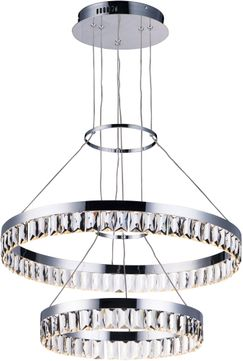 Maxim 38377BCPC Icycle Polished Chrome Pendant Lamp