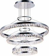 Maxim 38379BCPC Icycle Polished Chrome Drop Ceiling Light Fixture