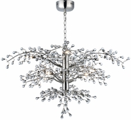 Maxim 38504CLPN Cluster Contemporary Polished Nickel LED Chandelier Lamp