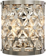Maxim 39503BCPN Cassiopeia Polished Nickel Wall Sconce Light