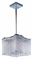 Maxim 39704CLPC Swizzle Small Polished Chrome 19 Inch Diameter Modern Lighting Pendant