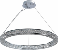 Maxim 39773BCPC Eternity Polished Chrome LED Pendant Light Fixture