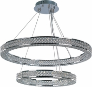Maxim 39777BCPC Eternity Polished Chrome LED Multi Hanging Pendant Lighting