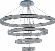 Maxim 39778BCPC Eternity Polished Chrome LED Multi Hanging Pendant Light
