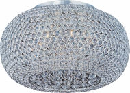 Maxim 39876BCPS Glimmer Plated Silver 18  Ceiling Lighting
