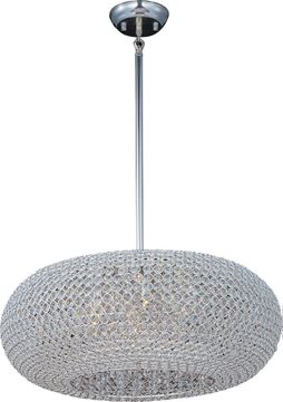 Maxim 39879BCPS Glimmer Plated Silver Ceiling Pendant Light