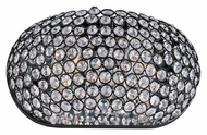Maxim 39881BCBZ Glimmer Crystal 12 Inch Wide Bronze Finish Light Sconce