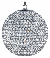 Maxim 39886BCBZ Glimmer 16 Inch Diameter Small Ball Crystal Pendant Light Fixture - Bronze