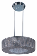 Maxim 39897BCPS Glimmer Large Plated Silver 16 Lamp 27 Inch Diameter Pendant Drum Light