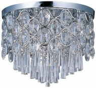 Maxim 39920BCPC Jewel Small 12-light Crystal Ceiling Light Fixture