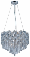 Maxim 39924BCPC Jewel Small 12-lamp Crystal Pendant Hanging Light