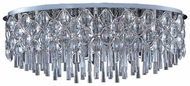 Maxim 39928BCPC Jewel Large 23-light Flush Mount Ceiling Light Fixture