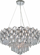 Maxim 39929BCPC Jewel Polished Chrome Lighting Chandelier