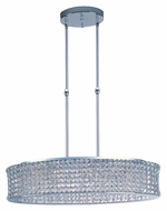 Maxim 39936BCPC Vision Large Beveled Crystal Polished Chrome Drop Ceiling Light