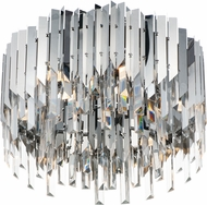 Maxim 40300BCPC Paramount Contemporary Polished Chrome LED Flush Mount Light Fixture