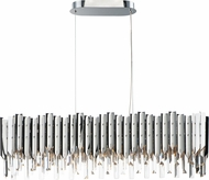 Maxim 40308BCPC Paramount Modern Polished Chrome LED Kitchen Island Light Fixture