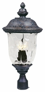 Maxim 40420WGOB Carriage House VX Traditional Oriental Bronze 26.5 Tall Outdoor Post Lamp