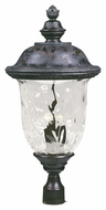 Maxim 40421WGOB Carriage House VX Traditional Oriental Bronze 14 Wide Exterior Outdoor Post Light