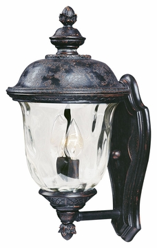 Maxim 40422WGOB Carriage House VX Traditional Oriental Bronze 16 Tall Outdoor Lamp Sconce