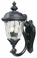 Maxim 40423WGOB Carriage House VX Traditional Oriental Bronze 9 Wide Exterior Wall Sconce Lighting