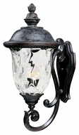 Maxim 40425WGOB Carriage House VX Traditional Oriental Bronze 14 Wide Exterior Lighting Wall Sconce