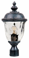 Maxim 40426WGOB Carriage House VX Traditional Oriental Bronze 19.5 Tall Outdoor Post Lighting