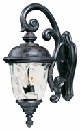 Maxim 40496WGOB Carriage House VX Traditional Oriental Bronze 9 Wide Exterior Wall Light Sconce