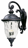 Maxim 40498WGOB Carriage House VX Traditional Oriental Bronze 14 Wide Exterior Wall Sconce
