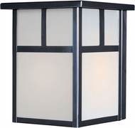 Maxim 4050WTBK Coldwater Contemporary Black Outdoor Wall Light Sconce