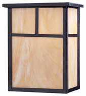 Maxim 4051HOBU Coldwater Craftsman Burnished 9  Wide Exterior Wall Lighting