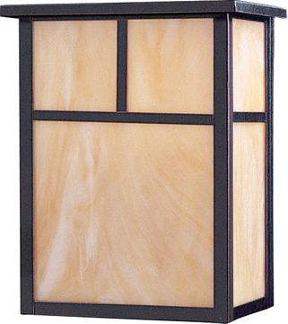 Maxim 4051HOBU Coldwater Contemporary Burnished Outdoor Lighting Sconce