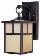 Maxim 4053HOBU Coldwater Craftsman Burnished 12  Tall Outdoor Sconce Lighting