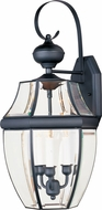 Maxim 4192CLBK South Park Traditional Black Outdoor 23 Lamp Sconce
