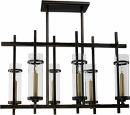 Maxim 43746CLGB Midtown Contemporary Gold Bronze LED Chandelier Lamp