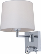 Maxim 50112WAPC Hotel Transitional Polished Chrome LED Wall Lamp