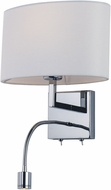 Maxim 50120WAPC Hotel Transitional Polished Chrome LED Light Sconce
