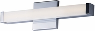 Maxim 52000PC Spec Vanity Modern Polished Chrome LED 18  Lighting For Bathroom