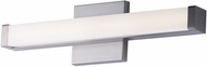 Maxim 52000SN Spec Vanity Contemporary Satin Nickel LED 18  Bath Lighting