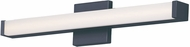 Maxim 52002BK Spec Contemporary Black LED 24  Lighting For Bathroom