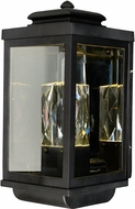 Maxim 53524CLGBK Mandeville Galaxy Black LED Exterior Wall Sconce